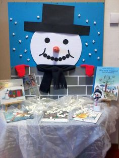 De thema tafel voor project winter! Winter Art, Winter Theme, Winter Crafts For Kids, Art For Kids, Winter Bulletin Boards, Arctic Animals, Paper Plate Crafts, Snowman Crafts, Toddler Crafts