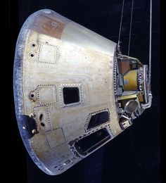 November 16, 1973: This Skylab 4 Command Module launched with astronauts Gerald P. Carr, William R. Pogue, and Edward G. Gibson on the third and last mission to the U.S. Space Station, Skylab. The astronauts spent 84 days on orbit.