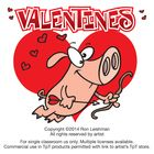 Cartoon fun for Valentines. Ron Leishman presents a fun collection of 18 funny cartoons for Valentines day. This hilarious set includes black and w...