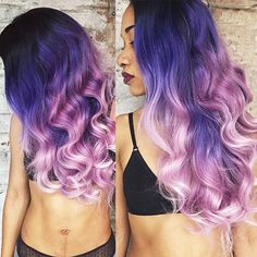 """""""{#Inspiration} Hair color combo inspiration by @rheacarter! Definitely wanna try this color on our extensions!!! #haircolor #hairinspiration #mermaidhair #ombrehair #dyedhair #haircoloring #purplehair #pinkhair #dipdye #perfectcurls #hairdo #instalikes #hair #hairoftheday"""" Photo taken by @vpfashion on Instagram, pinned via the InstaPin iOS App! http://www.instapinapp.com (01/13/2015)"""