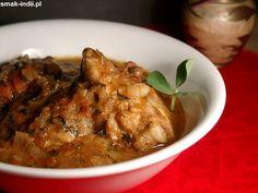 Kurczak z kozieradką (Methi Chicken - Murgh Methi) to popularne danie kuchni indyjskiej. Są to kawałki mięsa kurczaka duszone w delikatnym kremowym sosie z dodatkiem świeżych liści kozieradki. Oto przepis na pyszne i aromatyczne Murgh Methi:     Drukuj/P Methi Chicken, Garam Masala, Indian Food Recipes, Chili, Chile, Chilis, Capsicum Annuum, Indian Recipes
