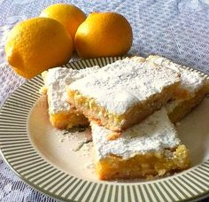 Lemon Bars - A Recipe Swap - Rants From My Crazy Kitchen