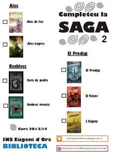 Completeu la Saga 2 · curs 2013/14 · @BiblioEugeni Saga