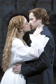 The Woman in White, 2005 London Cast - Alexandra Silber as Laura Fairlie and Damian Humbley as Walter Hartright
