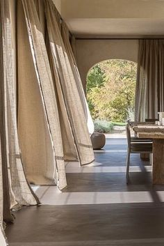 Modern House Design, Modern Interior Design, Interior Architecture, Interior And Exterior, Ibiza Style Interior, Interior Design Curtains, Architecture Wallpaper, Beautiful Interior Design, Interior Plants