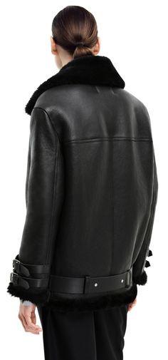 Acne Studios Velocite Shearling Jacket -