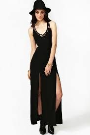 maxi dress with 2 slits #TopshopPromQueen