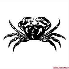 Crab Cancer Tattoo Design   Tattoo Viewer.com