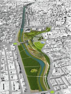 Park of Levante Master Plan / K/R Architects,Courtesy VUW