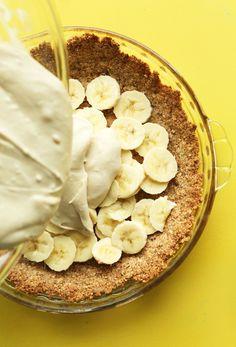 Banana Cream Pie (Vegan + GF)