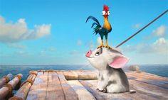 Who's cuter? #Pua or #Heihei #Moana #MouseMingle