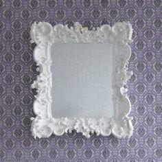beautiful baroque mirror