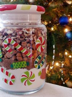 Baked Perfection: Butterscotch Pecan Cookie Mix in a Jar