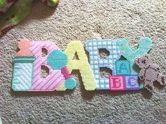 Baby Wall/door Sign 1/3