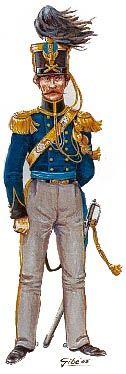 1833 Capitano Corpo Reale di artiglieria