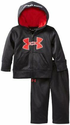 Under Armour Baby-Boys Infant Future Camo Logo Hoodie Set #kids #children #clothing #underarmour #boys #military #casual #style #fashion #kidsfashion #bodysuit #sporty