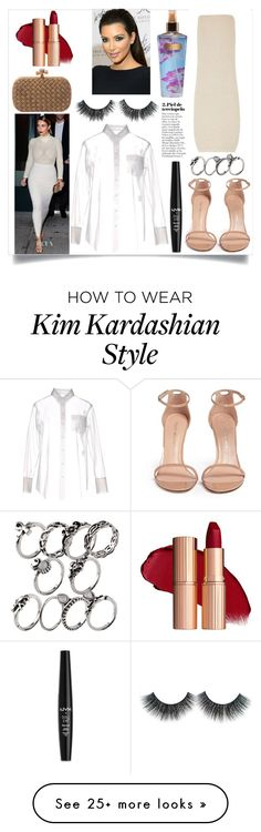 """""""Untitled #262"""" by voicu-ana on Polyvore featuring Stuart Weitzman, Victoria's Secret and NYX"""