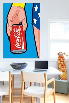 Wonder Drug by Greg Guillemin Canvas Print by iCanvasART on @HauteLook