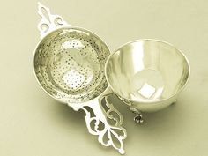 American Sterling Silver Tea Strainer by Tiffany & Co - Antique Circa 1927 #TiffanyCo
