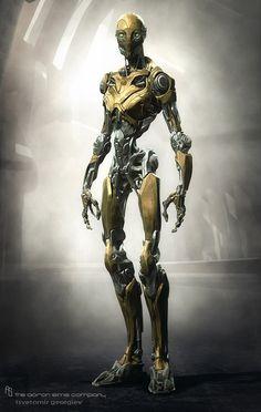 Robot Smart • (Concept Art) Tsvetomir Georgiev of The Aaron Sims Company