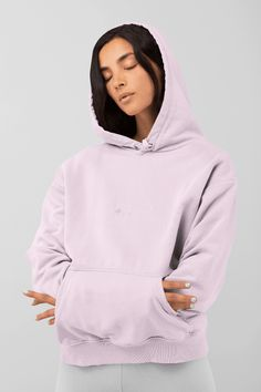 Feel Good Hoodie - EXTRA LARGE / LIGHT PINK