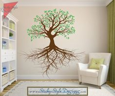 Find This Pin And More On Tree. Tree Of Life With Roots Wall Decal ... Part 44