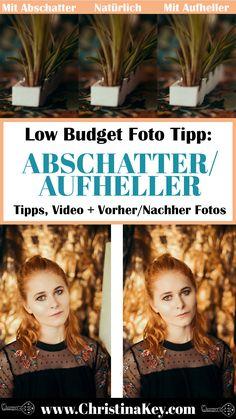 Bessere Fotos mit Haushaltsartikeln - Coole Foto Effekte mit einfachen Haushaltsartikeln Heute zeige, was ihr mit einfachen Haushaltsartikeln machen könnt.