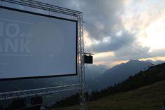 Kino am Wank 2014 - Freilichtkino vor der atemberaubenden Kulisse von Garmisch-Partenkirchen