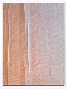 tauba auerbach: untitled (fold), 2011. acrylic on canvas / wooden stretcher. 182.9 x 137.2 cm. courtesy of the artist and paula cooper gallery, ny.