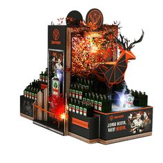 POPAI Awards Paris 2018 Pos Display, Product Display, Display Design, Pos Design, Point Of Purchase, My Room, Packaging Design, Vodka, Awards