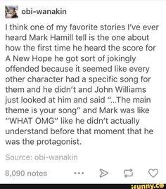 Mark Hamill is life.