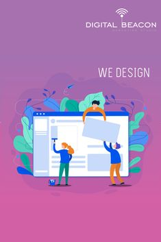 At Digital Beacon Marketing Studio, we've conventional a tested web design process to ensure that every website we produce delivers on its core aim. Digital Marketing Services, Seo Services, Social Media Marketing, Layout, Web Design Services, Business Goals, Free Quotes, Website, Design Process