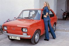 Ursula Andress with a Seat 127 @ Palma de Mallorca Fiat 500, Ursula Andress, Ibiza, Automobile, Childrens Rocking Chairs, Good Looking Cars, Ford, Car Advertising, Sweet Cars