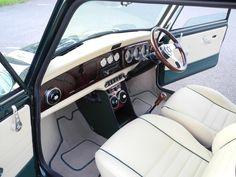 Image result for classic mini interior