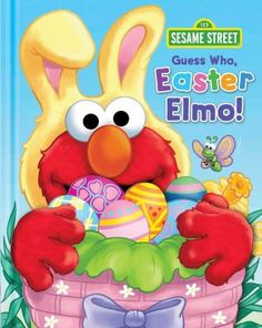 Guess who, Easter Elmo! by Mitter, Matt.  ER MITTER.