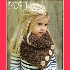 Knitting pattern - The Ruston Cowl (The Velvet Acorn Designs) Little kids in crochet/knit wear are fricken adorable! Knitting For Kids, Loom Knitting, Knitting Projects, Baby Knitting, Crochet Baby, Knitting Patterns, Knit Crochet, Crochet Patterns, Knitted Cowls