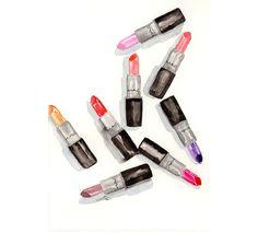 Mac Lipstick addict  Watercolor MakeUp illustration by MilkFoam, $40.00