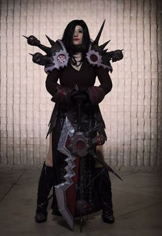 Warlock Tier 5 from World of Warcraft Cosplayer: Schrei205 Photographer: Anime Indian