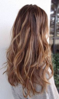 """Or """"Ecaille Balayage"""" if you want it's fancy name"""