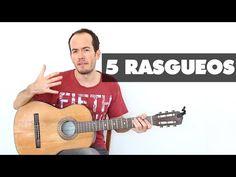5 Rasgueos para MEJORAR tu mano derecha - Guitarra Fácil Técnica Acordes Acompañamiento - YouTube