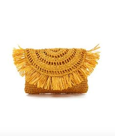 the perfect straw clutch