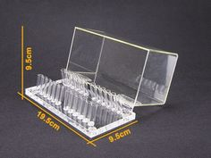 1Pc Dental Acrylic Organizer Holder Case for Orthodontic Preformed Wire #Ruier