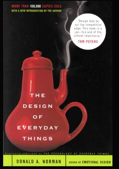 """Design may be our top competitive edge. This book is a joy-fun and of the utmost importance""- TOM PETERS"