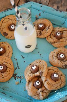Halloween Eye Cookies