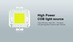 IP65 flood light with high power COB light source