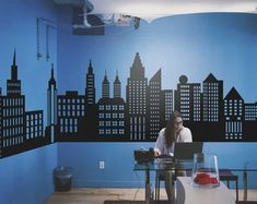 Custom Wall Decals and Murals for Home Decor by decalideas on Etsy Wall Decal Sticker, Vinyl Wall Decals, Nursery Wall Decals, Vinyl Art, Spiderman Wall Decals, Batman Stickers, Boys Room Decor, Kids Bedroom Boys, Custom Design