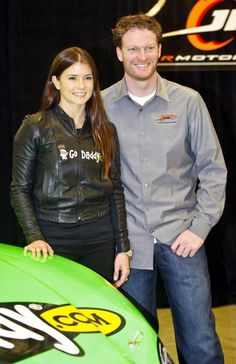 Danica Patrick and Earnhardt Jr. joined forces in 2009 with Patrick driving for Earnhardt's JR Motorsports during her first NASCAR season.