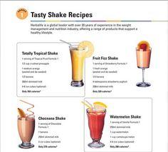 Shake recipes! Ask me how to order! Lots of other shake ideas on my website https://www.goherbalife.com/deniseleann/en-US