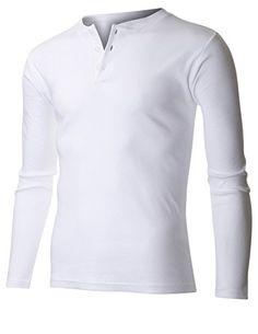 FLATSEVEN Men's Classic Henley Long Sleeve Shirt Buttoned (THL101) White, M FLATSEVEN http://www.amazon.com/dp/B00VTKEU74/ref=cm_sw_r_pi_dp_43Swvb19ZZWZN