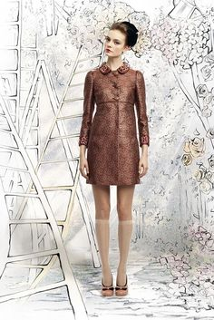 Wintery Red Jacket - Red Valentino A/W12